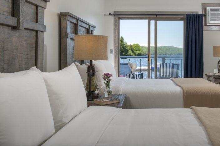 Lodge room 103. Lake Bomoseen Lodge Bomoseen, Vt