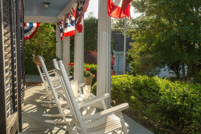 Liberty Hill Inn Yarmouth Port front porch